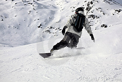 Top Mountain Extreme Snowboarding Slide