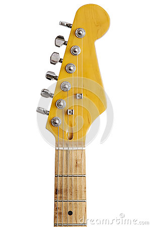 Free Top Of The Guitar Neck Royalty Free Stock Images - 58370949