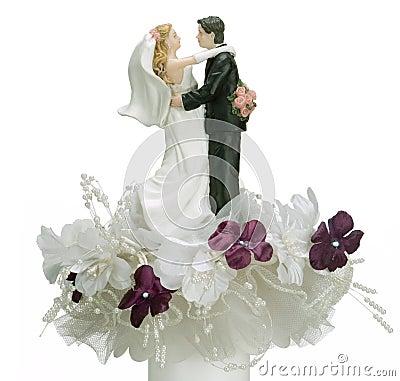 Free Top Of Wedding Cake Royalty Free Stock Photos - 753228