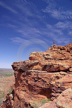 On Top of Rocky Outcrop