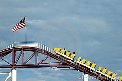 top rollercoaster flag