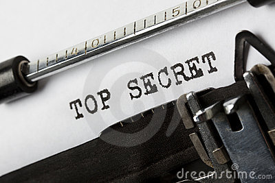 Top Secret Fotografia Stock - Immagine: 21330700