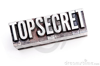 Top Secret Fotografia Stock - Immagine: 22154732