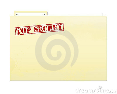 Top Secret Folder Clip Art