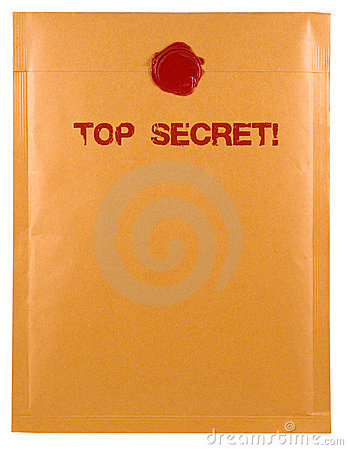 Free Top Secret Mail Stock Photo - 744350