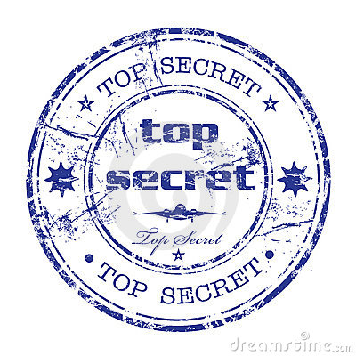Free Top Secret Rubber Stamp Stock Images - 8798904