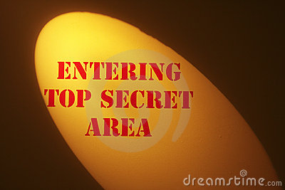 Top Secret Sign