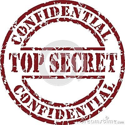Free Top Secret Stamp Stock Photo - 7889870