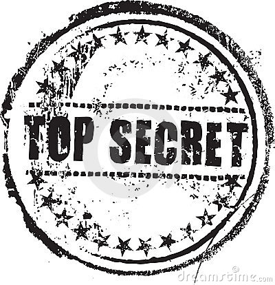 Free Top Secret Stamp Royalty Free Stock Images - 8761739