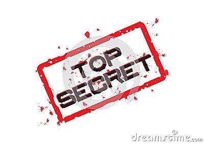 Top secret - vector