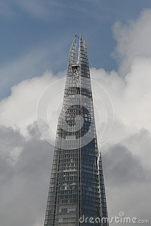 Top of Shard building London Editorial Image