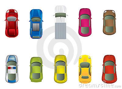 Top View Car Royalty Free Stock Photography Image 21541127