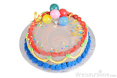 Cake Images Top View : Top View Chocolate Birthday Cake Royalty Free Stock ...