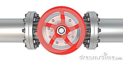 Top view valve