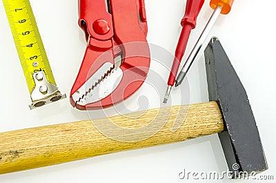 Top view of woork tool