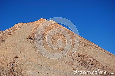 Top of volcano