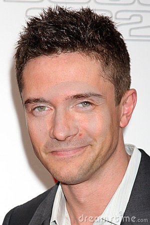 Topher Grace Editorial Photography