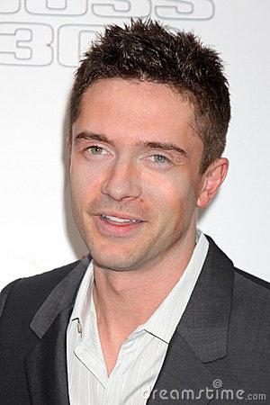 Topher Grace Editorial Stock Photo