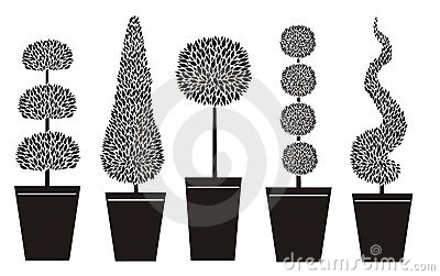 Topiary Shapes Stock Photography Image 774172