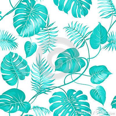 Free Topical Palm Leaves Royalty Free Stock Image - 56383926
