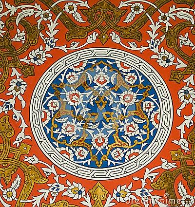 Free Topkapi Decoration Stock Photography - 15643832
