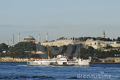 Topkapi palace and hagia sophia