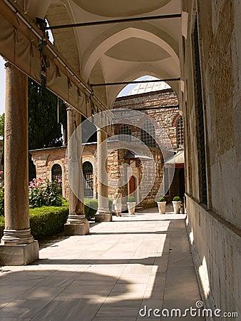 Topkapi Palace in Instanbul