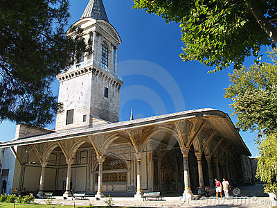 Topkapi palace in Istanbul