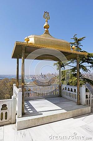 Topkapi Palace at istanbul