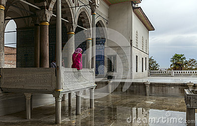 Topkapi palace in Istanbul Editorial Stock Photo