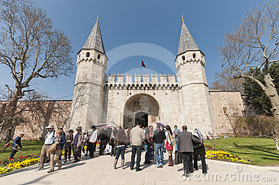 Topkapi Palace, Istanbul, Turkey Editorial Stock Photo