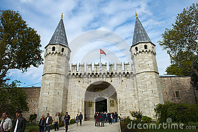 Topkapi Palace, Travel to Istambul, Turkey Editorial Image
