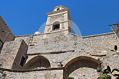 Toplou monastery at Crete island in Greece