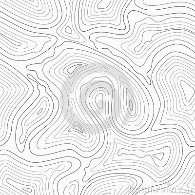 Free Topographic Contour Lines Vector Map Seamless Pattern Stock Images - 81385784