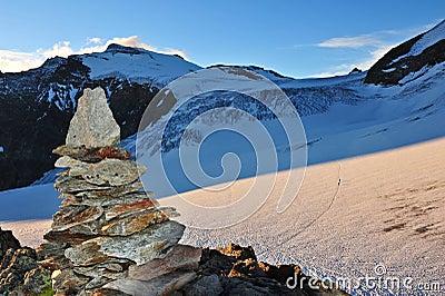 Toppmöte av Sustenhorn