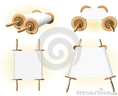 Torah Bible Scrolls