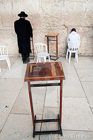 Torah at the Wailing Wall