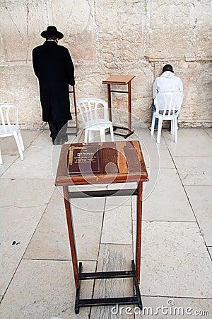 Torah at the Wailing Wall