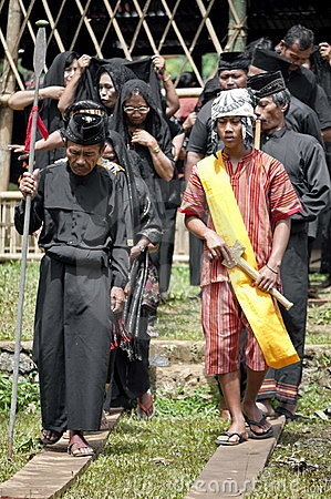 Toraja Traditional funeral ceremony Editorial Photo