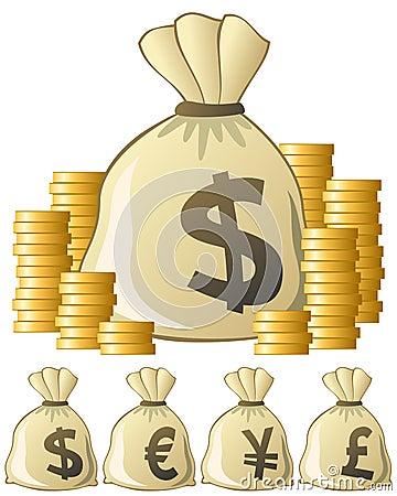 Torba pieniądze