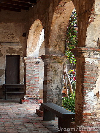 Torbogen des Auftrags San Juan Capistrano