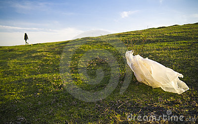 Torby klingerytu odpady
