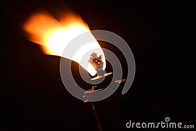 Torch flame fire burn