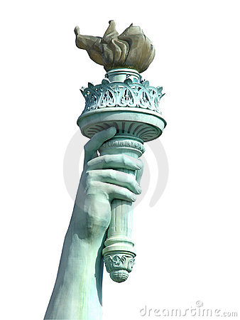 Free Torch Of Liberty Royalty Free Stock Images - 76659