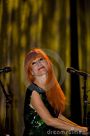 Tori Amos in concert Editorial Photography