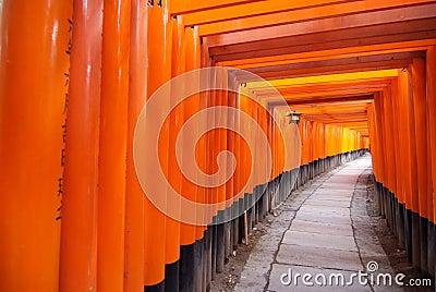 Tori gate for luck