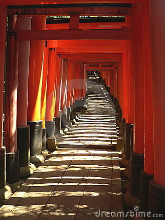 Torii at Fushimi Inari Shrine