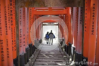 Torii Gate Tunnel