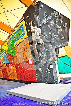 Torino Climbing Challenge 2012 Editorial Image
