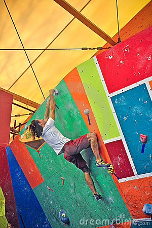 Torino Climbing Challenge 2012 Editorial Photography